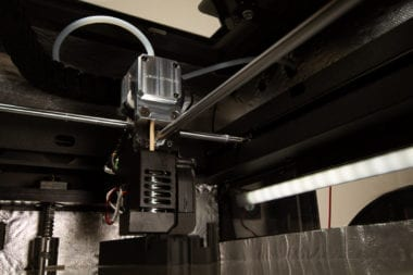 BMG-HT Extruder installed in a Intamsys FunMat HT inside detail